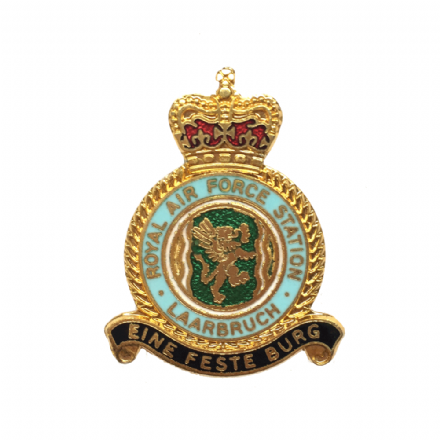 Royal Air Force RAF Station Laarbruch Lapel Badge